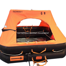 Small Craft Life Raft ISO9650 Inflatable Liferaft