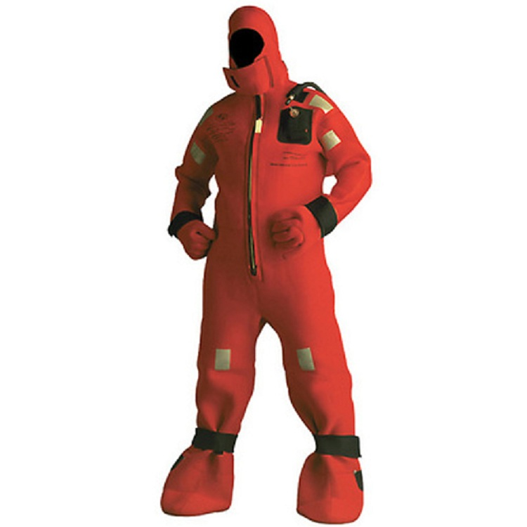Storage and maintenance for immersion suit